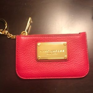 Marc Jacobs change purse with key chain